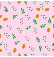 floral colorful seamless pattern delicate vector image