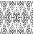 ikat seamless pattern tribal background vector image vector image