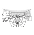 Meeting room vector image