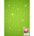 raindrops background vector image