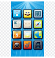 Smart phone apps icons vector | Price: 1 Credit (USD $1)