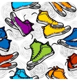 Sneakers Pattern vector image