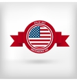 Sticker for Independence Day vector image