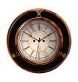 Ancient clock vector image vector image
