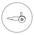 bulgarian electric circular saw angle grinder vector image vector image