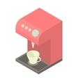 Coffee machine icon cartoon style vector image vector image