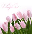 flower design border vector image vector image