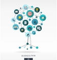 Growth tree concept for business communication