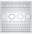 Hand Drawn Borders and Frames vector image vector image