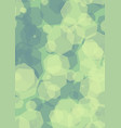 hexagonal semitransparent green shapes vector image vector image