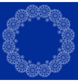 indian lace vector image vector image