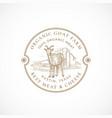 milk and cheese farm framed retro badge or logo vector image vector image