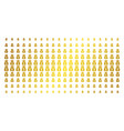 money bag gold halftone effect vector image
