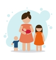Pregnancy mother design vector image vector image