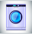 realistic washing machine automatic isolated vector image