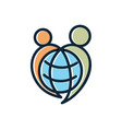 world care vector image