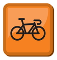 Bicycle icon - bike icon vector image
