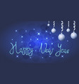 brilliant of stars and sparkles vector image