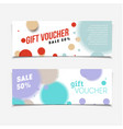certificate coupon for shop with offer vector image