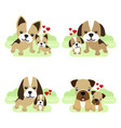 Cute animals for mother s day dogs mom and baby