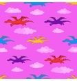 dragons Seamless background vector image vector image