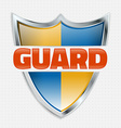 Guard Icon vector image vector image