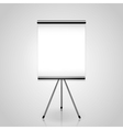 Projector screen tripod vector image vector image