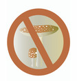 Two fly agaric vector image