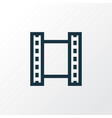 video outline symbol premium quality isolated vector image
