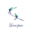 Bird Logo2 vector image vector image