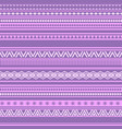 geometric seamless pattern pink and purple vintage vector image vector image