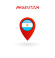 location icon for argentina flag eps file vector image