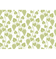 Pattern Grape vector image vector image