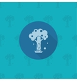 Stylized Tree with Hollow vector image vector image