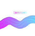 big data analytics and business intelligence vector image