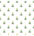 building church pattern vector image vector image