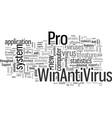 importantnewsregardingadifferenttypeofantivirus vector image vector image