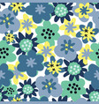 seamless pattern background flower seamless vector image vector image