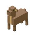 sheep modular farm animal plastic lego toy blocks vector image vector image