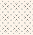 simple floral pattern minimalist seamless texture vector image vector image