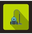 Vacuum cleaner icon flat style vector image