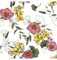 vintage background wallpaper hand drawn trendy vector image vector image