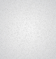 White canvas doted texture vector image vector image