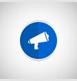 speaker icon broadcasting speak isolated scream vector image