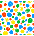 Polka dot seamless pattern Hand drawn artistic vector image