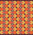 colorful retro pattern vector image