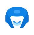 a boxing helmet vector image