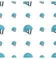 background for sport helmet vector image