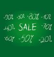 discount schoolboard vector image