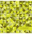 Mosaic of random shapes vector image vector image